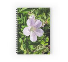 purple flowers with a touch of magic Spiral Notebook