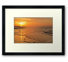Can Gio Beach, HCMC, Vietnam Framed Print