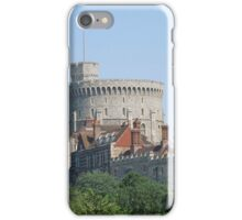 Windsor Castle,from the Thames, England iPhone Case/Skin