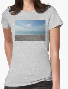 Venice Beach Birds Womens Fitted T-Shirt