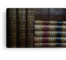 Ancient Books Canvas Print