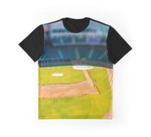 Baseball Field by Monique Ortman Graphic T-Shirt