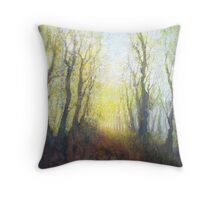 The Beginning of a Perfect Day Throw Pillow
