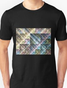 Pastel Tapestry - Abstract Fractal Artwork Unisex T-Shirt