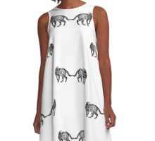 Stray cat A-Line Dress