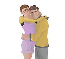 Hyperion Hugs Photographic Print