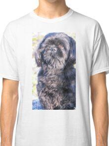 A cute little shih tzu on walk Classic T-Shirt
