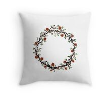 ring of rosies Throw Pillow
