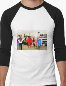 Excuse me....do you have anything in a plus size??? Men's Baseball ¾ T-Shirt
