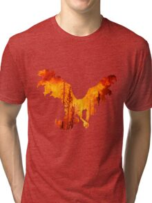 Moltres used heat wave Tri-blend T-Shirt