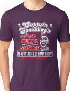 Captain Spaulding Fried Chicken & Gasoline Unisex T-Shirt