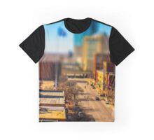 Bricktown Street by Monique Ortman Graphic T-Shirt