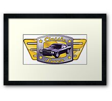 Classic Lover - Classic cars Framed Print