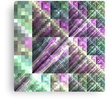 Tile - Abstract Fractal Artwork Canvas Print