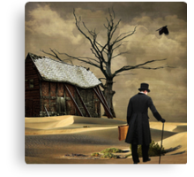Traveling Alone... Canvas Print