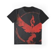 Team Valor grunge red - black bg Graphic T-Shirt