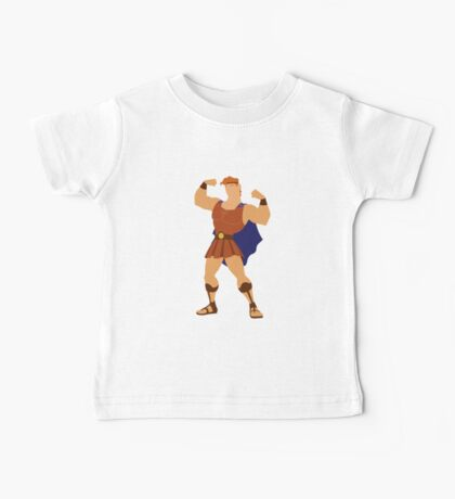 Hercules Illustration Baby Tee