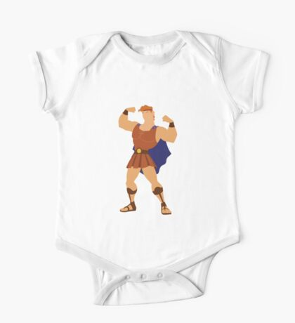 Hercules Illustration One Piece - Short Sleeve