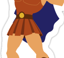 Hercules Illustration Sticker