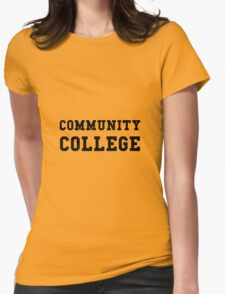 Community College Womens Fitted T-Shirt