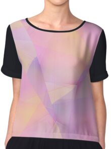 Abstract Colors Chiffon Top