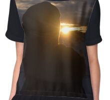 Morning Sunrise - Iceland Chiffon Top