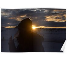 Morning Sunrise - Iceland Poster