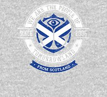 People of Tomorrowland Flags logo Badge - scotland - scottish - na h-Alba  Unisex T-Shirt