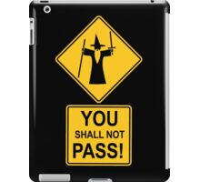 -MOVIES- You Shall Not Pass iPad Case/Skin