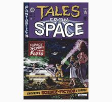 Back to the Future Tales from Space comic cover Kids Tee