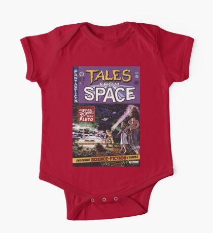 Back to the Future Tales from Space comic cover One Piece - Short Sleeve
