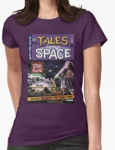 Back to the Future Tales from Space comic cover Womens Fitted T-Shirt