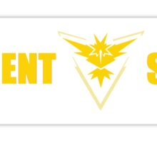 Team Instinct Frequent Stops - Recommended Size for Car is Large! Sticker