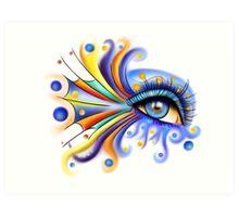 Arubissina V2 - fish eye Art Print