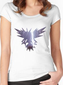 Zapdos used thunder Women's Fitted Scoop T-Shirt