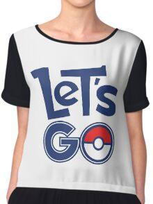 Pokemon GO - Let's Go - Pokémon GO Fans - Pokemon Chiffon Top