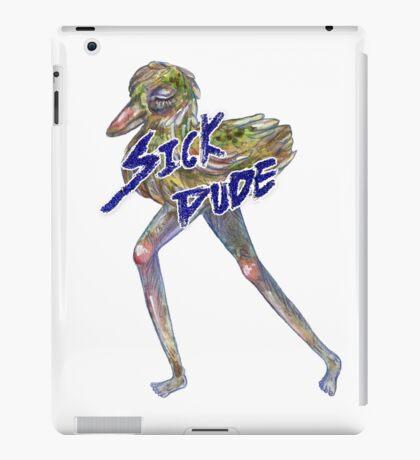 Sick Dude iPad Case/Skin