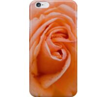 Peach Rose Blossom iPhone Case/Skin