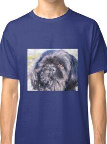 Cute shih tzu head Classic T-Shirt