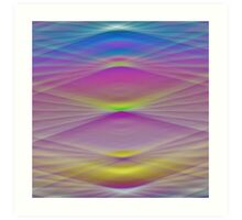Abstract Colors 2 Art Print