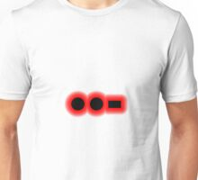 Morse Code Letter U Unisex T-Shirt