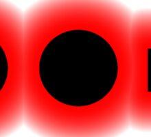 Morse Code Letter U Sticker