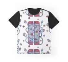Handsy Phone by Maisie Cross Graphic T-Shirt