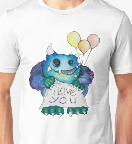 I Love You Monster Unisex T-Shirt