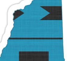 New Hampshire HOME state design Sticker