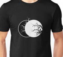 Geometric Lunae Black Unisex T-Shirt