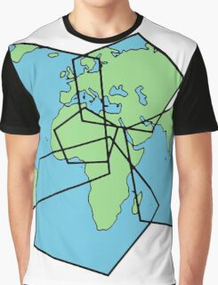 Poly Earth. Graphic T-Shirt