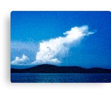 Draco Sky Canvas Print