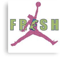 Fresh Prince Jumpman Canvas Print