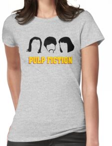 -TARANTINO- Pulp Fiction Characters Womens Fitted T-Shirt
